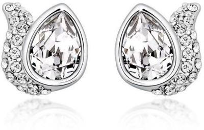 Nevi Fashion Swarovski Crystal Metal, Crystal Stud Earring