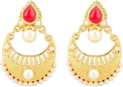 Savvy Savvy Fashion Brass Jhumki Earring