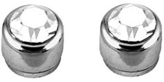 Vaishnavi First Quality Korean Made Non-Allergic 9 mm Powerful Shining 316L Cubic Zirconia Stainless Steel Magnetic Earring Flipkart