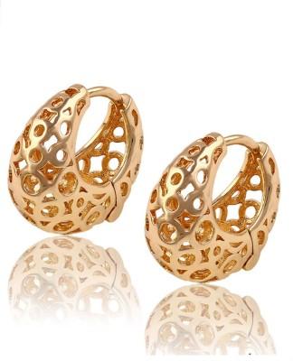 Aahna- Designer Jewellery Beautiful Copper Hoop Earring