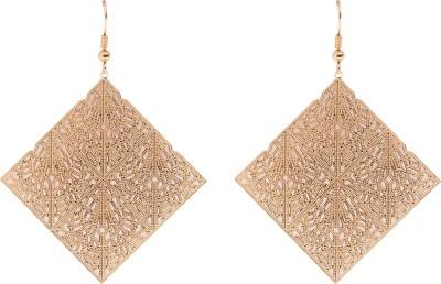 Sparkling Trinkets Metal Drop Earring