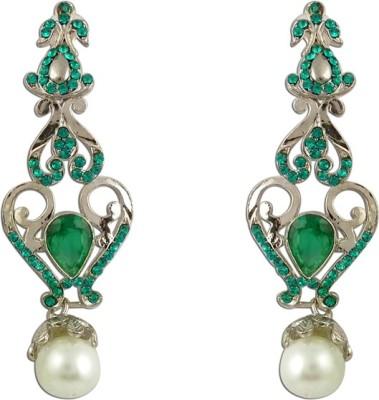 The Fine World Victorian Pattern For Girls Zircon Metal Drop Earring