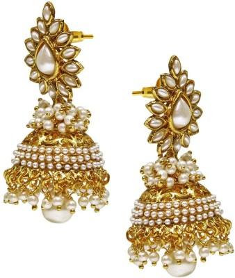 Satyam Jewellery Nx Antique Design Copper Jhumki Earring