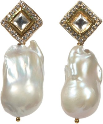 Envy Ivory Pearl Mother of Pearl Drop Earring