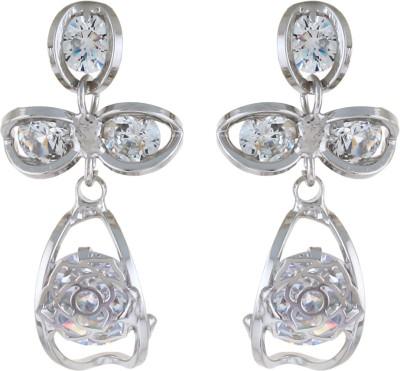 Numaish Fashionable Crystal Alloy Chandbali Earring