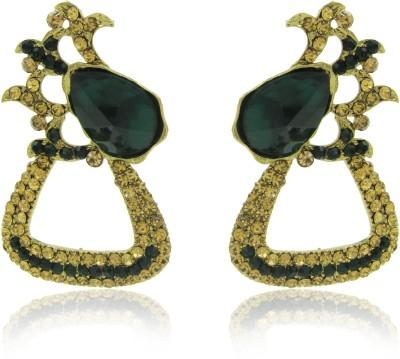Jeweltech Wedding Designer Princess Delight Crystal Alloy Stud Earring