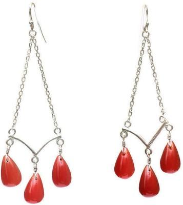 LeCalla Je102897a56sl Sterling Silver Dangle Earring