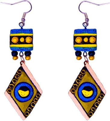Retaaz Raagini Karnika Terracotta Ceramic Dangle Earring
