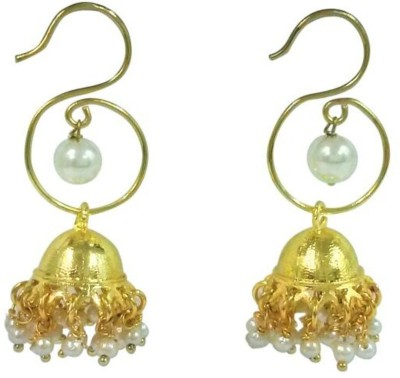 Deco Junction Stylish Brass Jhumki Earring