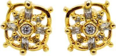 Silvesto India 718 Cubic Zirconia Stone Stud Earring