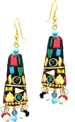 Fashion Era Multi Sparkling Metal Jhumki Earring