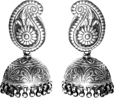 Anavaysilver Ear003 Sterling Silver Jhumki Earring