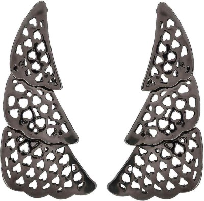 Maayra Guess the Shape Crystal Alloy Drop Earring
