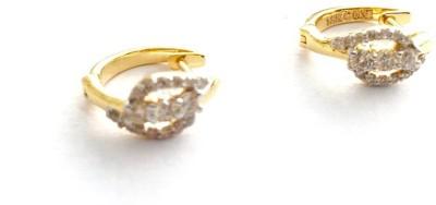 Arkina Diamonds Peace Duo Yellow Gold 18kt Diamond Stud Earring