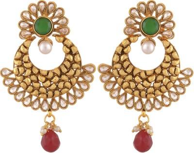 Royal Lady Festive Copper Chandbali Earring