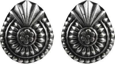 Miska Silver Antique Sterling Silver Stud Earring