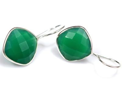 Anavaysilver Ear011 Onyx Sterling Silver Dangle Earring