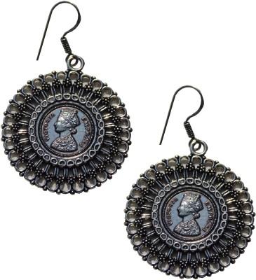Excellent Gems German Metal Dangle Earring