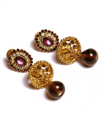 PFJ PFJ3009 Brass, Copper Drop Earring