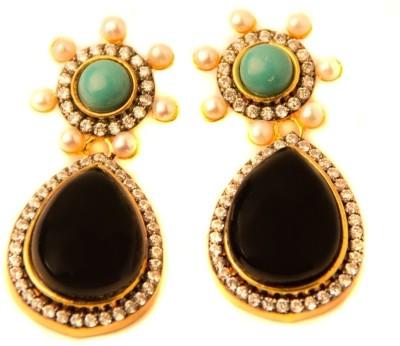 Amarsons Pearls Victorain Hanging Alloy Drop Earring
