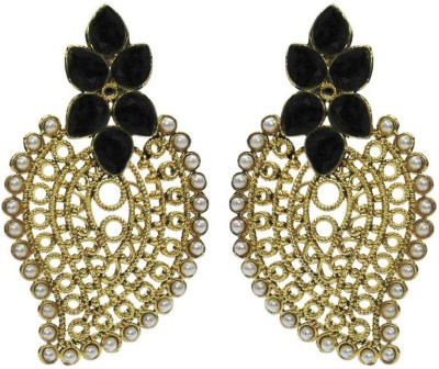 Deco Junction Ethenic Modren Earring Brass Huggie Earring
