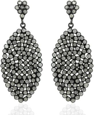 SuvidhaArts Diva Fashion Cubic Zirconia Brass Drop Earring