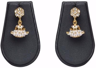 Pourni Zumka Brass Jhumki Earring