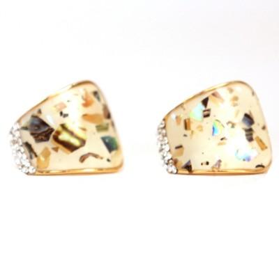 Hanishka Alloy Clip-on Earring