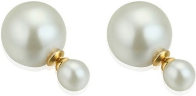 Dilan Jewels Double Ball Round Statement 2015 Alloy Stud Earring
