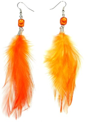 Ammvi Fire Feather For Women Alloy Dangle Earring