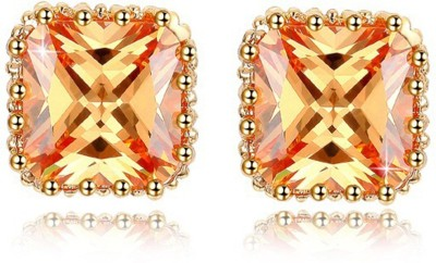 ArietteJewels Zahara Earrings Copper Stud Earring