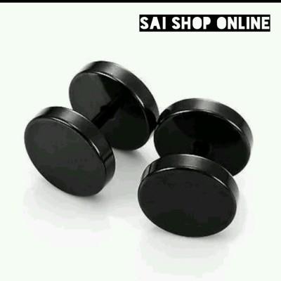 Sai Shop 8mm Stainless Steel Plug Earring