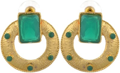 Shourya Designer Earrings Alloy Chandbali Earring