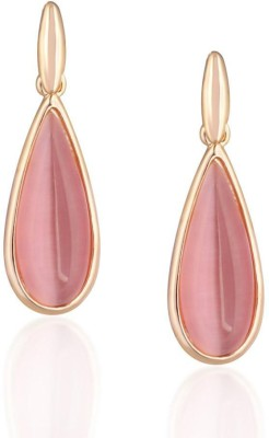 Donatella Designer Brass Dangle Earring