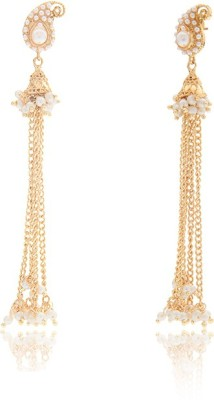 Vama Spring Sparkle Alloy Dangle Earring