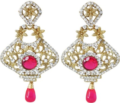 Rich Lady Princess Delight Alloy Dangle Earring