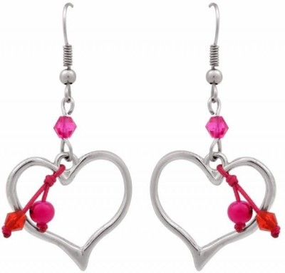 Trendy Baubles Metal, Acrylic Dangle Earring