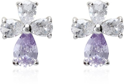 Svelte Unique Exclusive Zircon Alloy Stud Earring