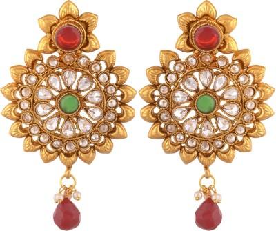 Royal Lady Festive Copper Drop Earring