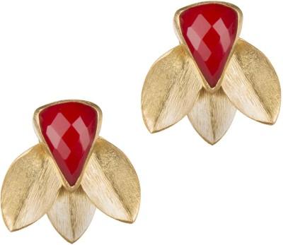 Mehtaphor Parni_2 Brass Stud Earring