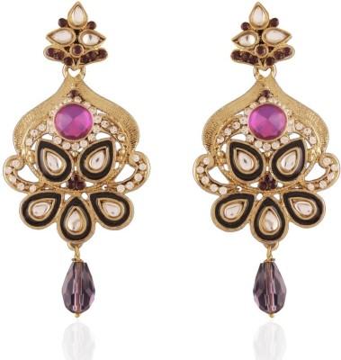 I Jewels Traditional Zinc Drop Earring