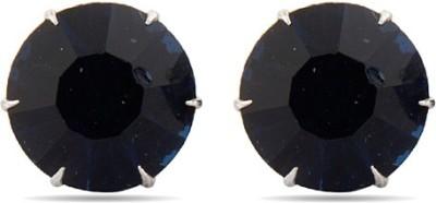 Factorywala Cool & Chic Deep Blue Crystal Studs Alloy Stud Earring