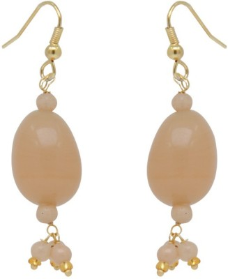 Jaipur Mart Golden Stone Cheap Light Weight your love Brass Drop Earring