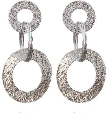 6LOTUS 3 CIRLCES Alloy Tassel Earring
