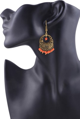 Arittra Elegant Metal Dangle Earring