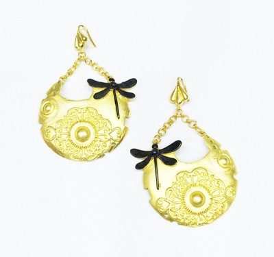 E-Designs ERG49GP1343-954 Alloy Dangle Earring