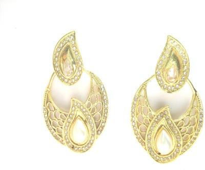 Fashion Pitaraa Golden Sparkel Copper Chandbali Earring