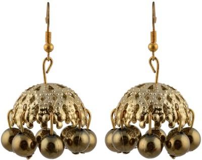 TrinketsANDTreasures Spring Sparkle Alloy Jhumki Earring