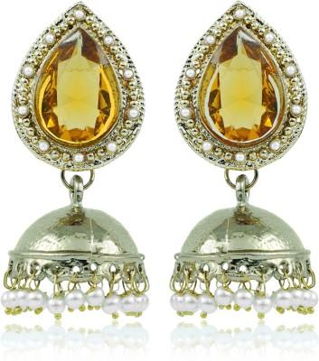 BoBell Indian Jhumki Flowing Bollywood Copper Jhumki Earring