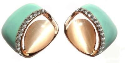 Shreya Collection Spring Sparkle-Blue Alloy Stud Earring